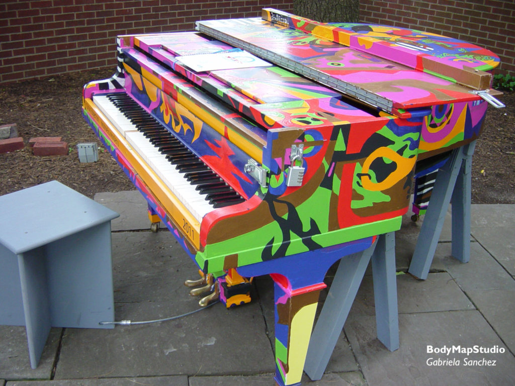 Pop-up Pianos, N.Y.