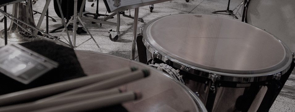 Timpani and mallets photo.